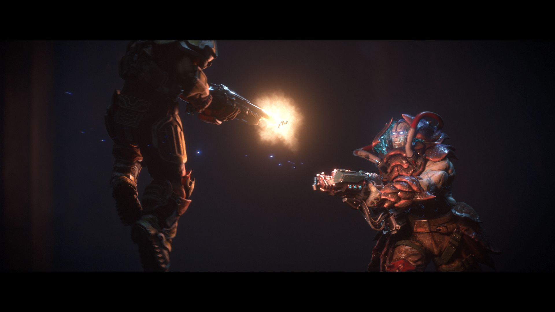 Check Out Quake Champions First Gameplay Trailer action shot e3 announce trailer
