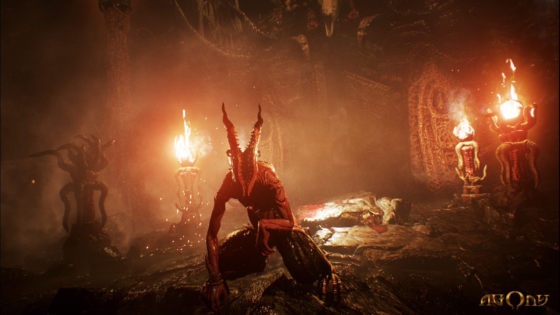New Horror Title Agony Could Be The Scariest Game Of 2017 agony3