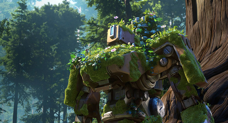 Overwatchs New Bastion Short Brings All The Feels bastionfacebook