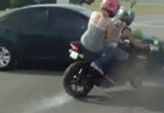 836e3cf42 Woman Loses Foot In Horrific Motorcycle Crash Caught On Film