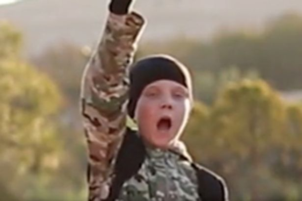 Horrific ISIS Video Shows Young British Boy Executing Prisoner brit isis child