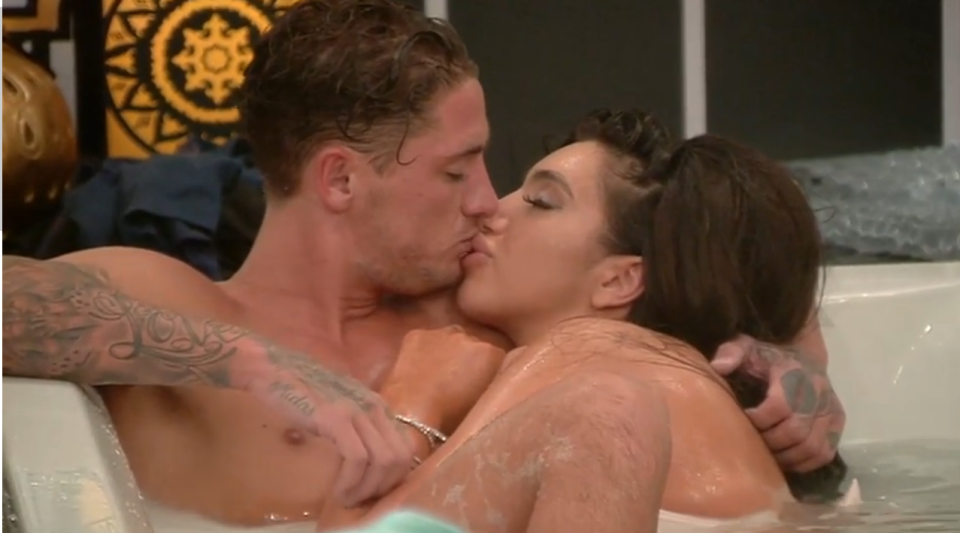 Celebrity Big Brother Set For Its Sexiest Episode Ever chloe5