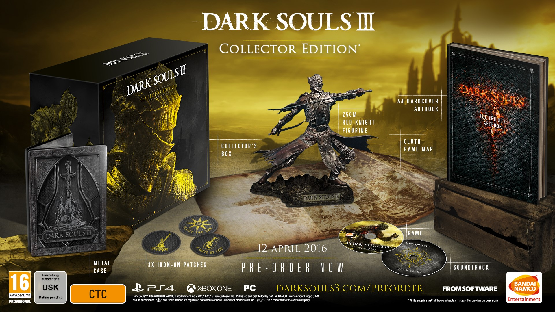 We Need To Talk About Videogame Pre Orders dark souls 3 uk collectors edition wide 1