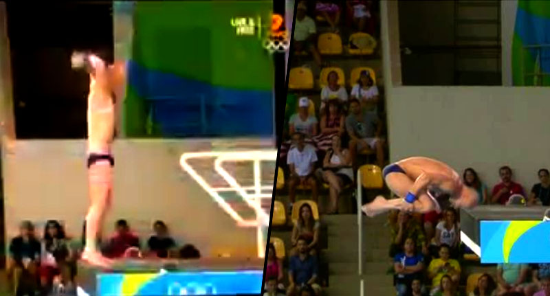Olympic Diver Comes Terrifyingly Close To Smashing Head Off Solid Platform divedive