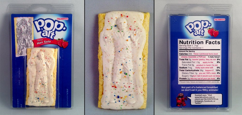 Heres How To Make A Han Solo Frozen In Carbonite Fridge dork