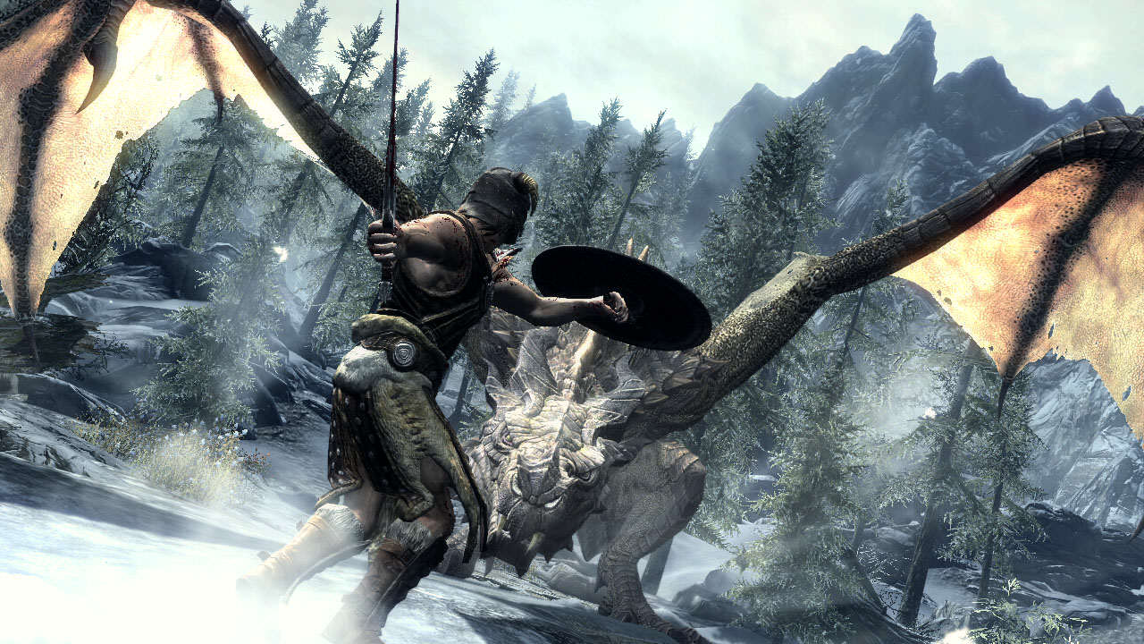 Elder Scrolls Movie Could Happen, But Only With This Director dragonfight