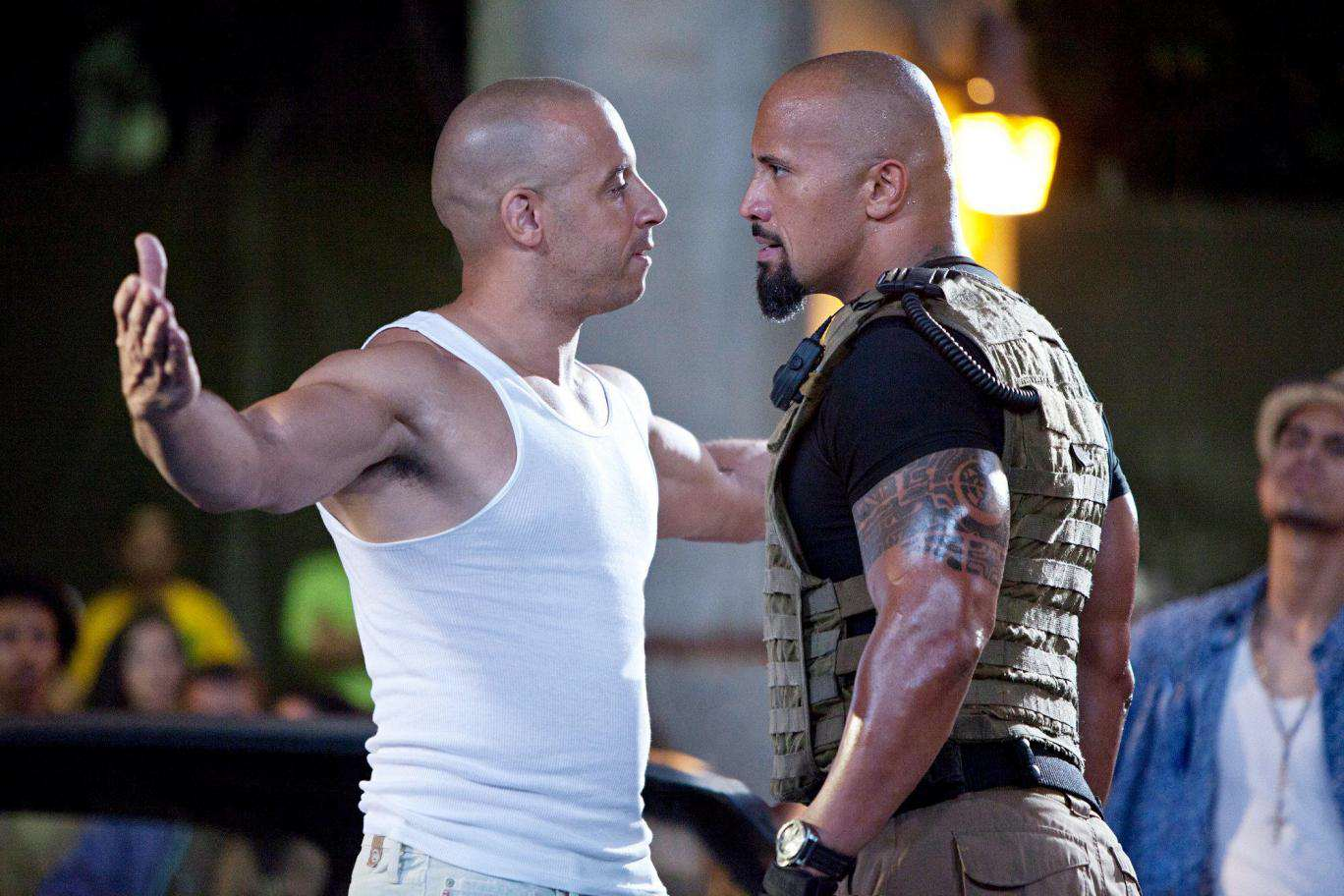 The Rocks Fast 8 Co Stars Are Pretty Furious With Him After Rant fast five01
