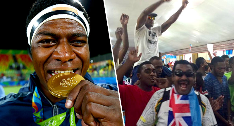 Fiji Wins First Gold Medal Ever, Country Loses It fiji