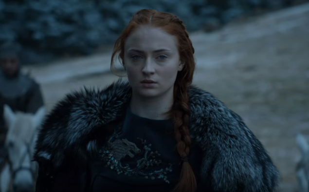 Game Of Thrones Sophie Turner Teases Sansa Starks Potential Demise game of thrones