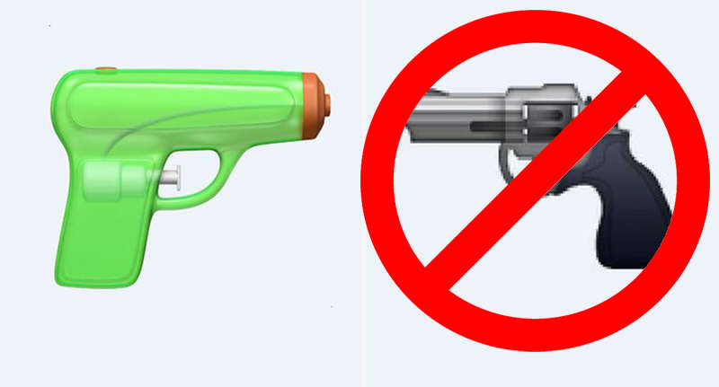 People Are Furious After Apple Has Decided To Censor A Popular Emoji gun