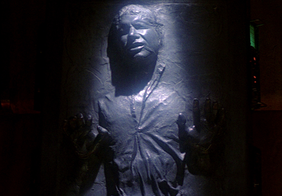 Here's How To Make A 'Han Solo Frozen In Carbonite' Fridge