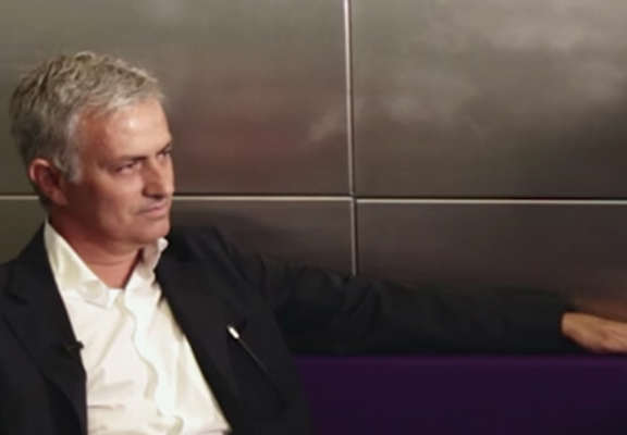 Andy Tate Meets Jose Mourinho To Test How Mancunian He Is jose andy weeb