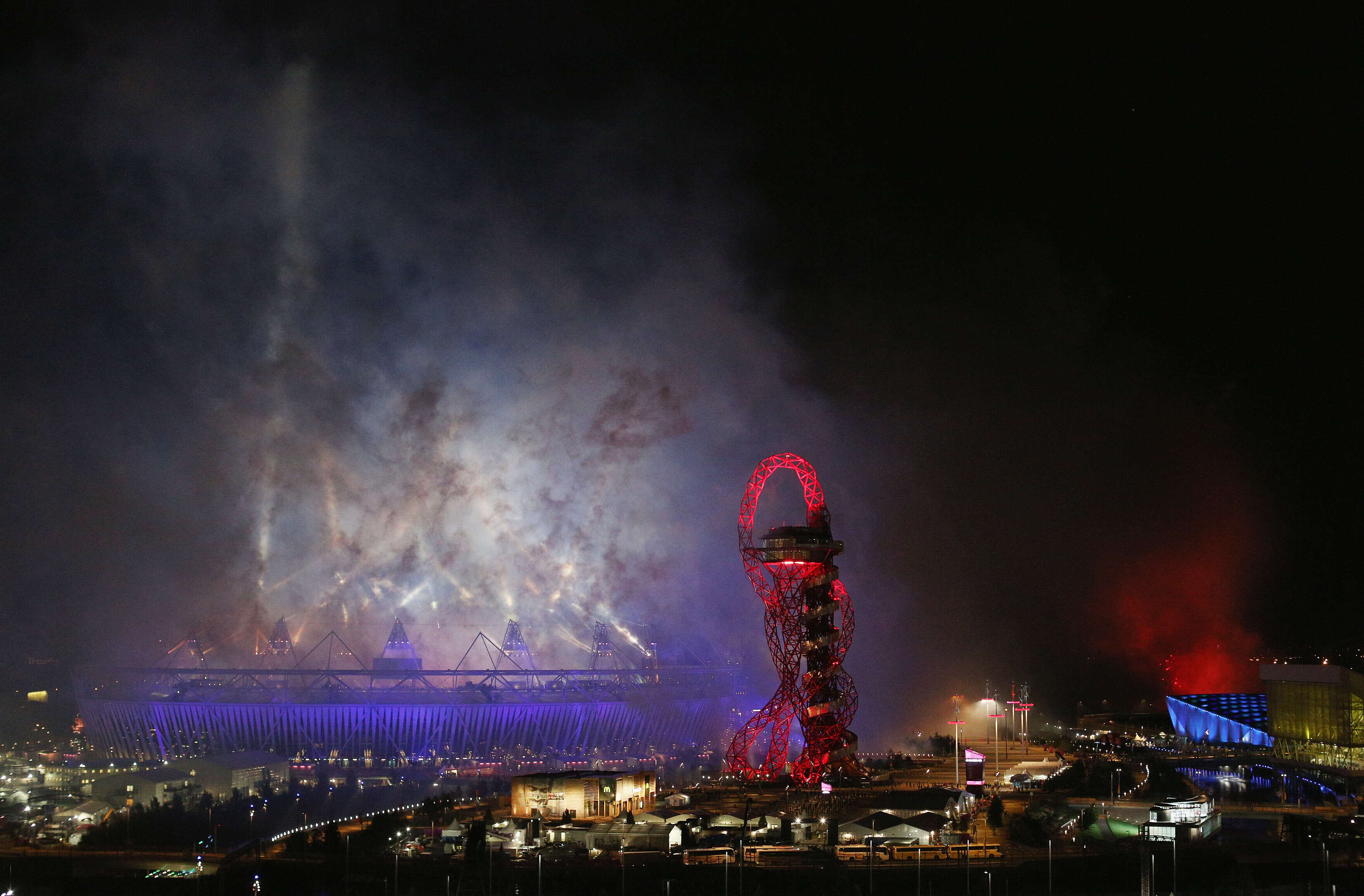 Incredible Photos Show What Happens When The Olympics Leave Town london
