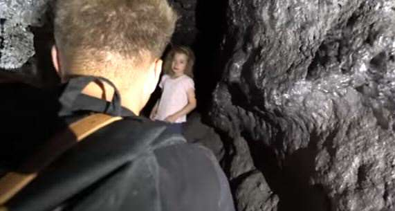 Explorers Make Unbelievable Discovery In Cave Deep Underground lost girl
