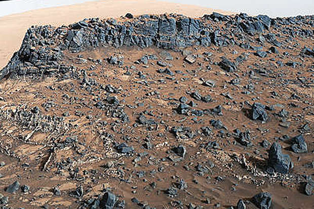 New Evidence May Have Confirmed Life On Mars mars veins 605192