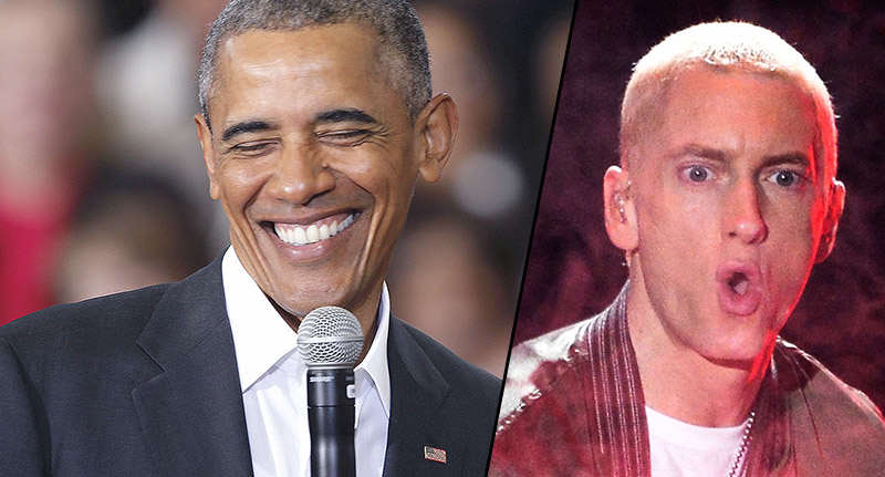 Backstage Vid Shows Obama Getting Hyped With Eminems Lose Yourself obamaFacebookThumbnail