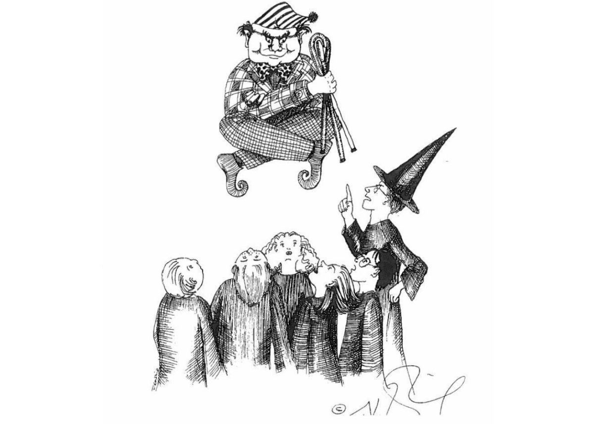 JK Rowling Just Released Some Amazing Early Sketches Of Harry Potter Characters potter 1
