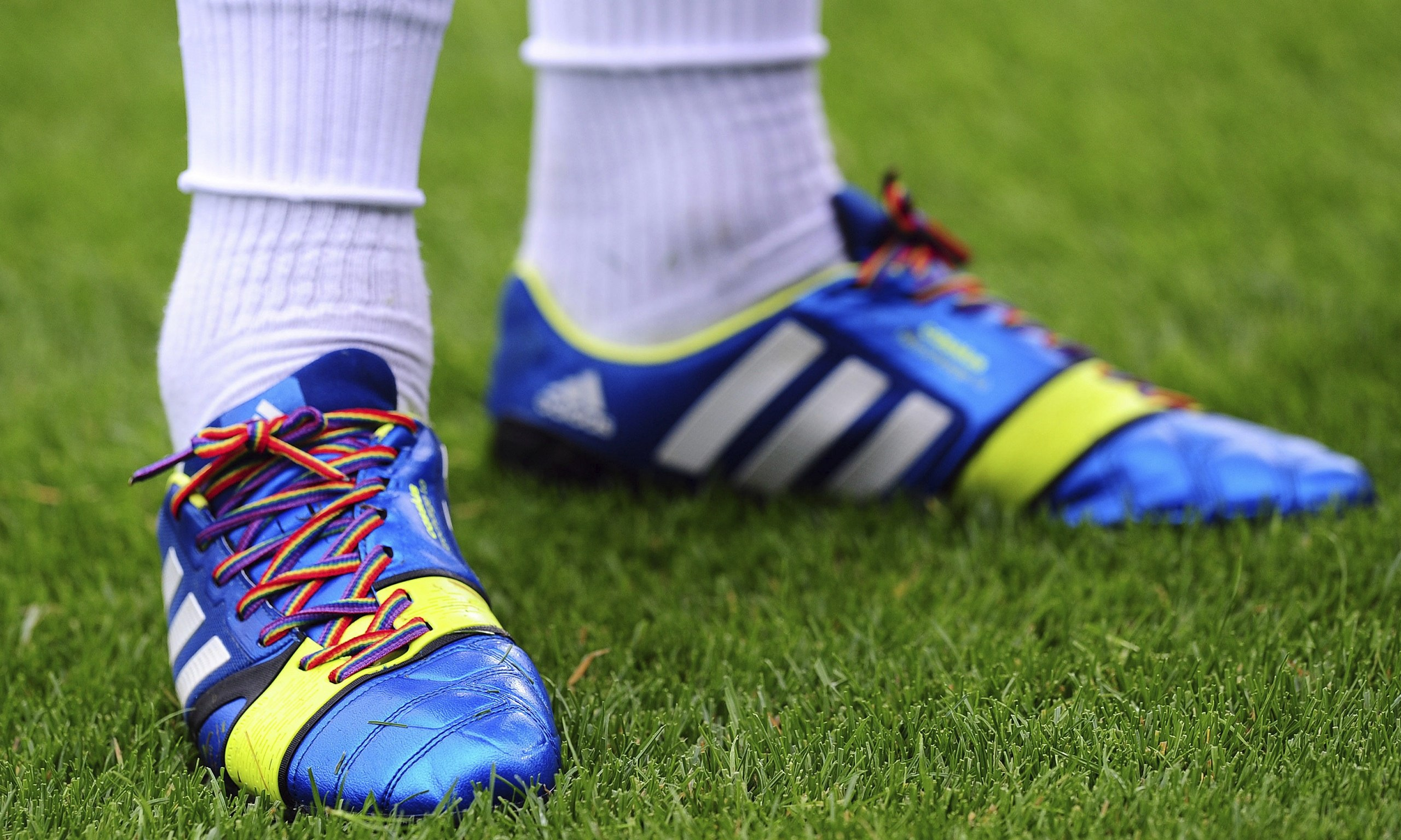 This Weekend Has Shown Homophobia In Football Is As Prominent As Ever rainbow