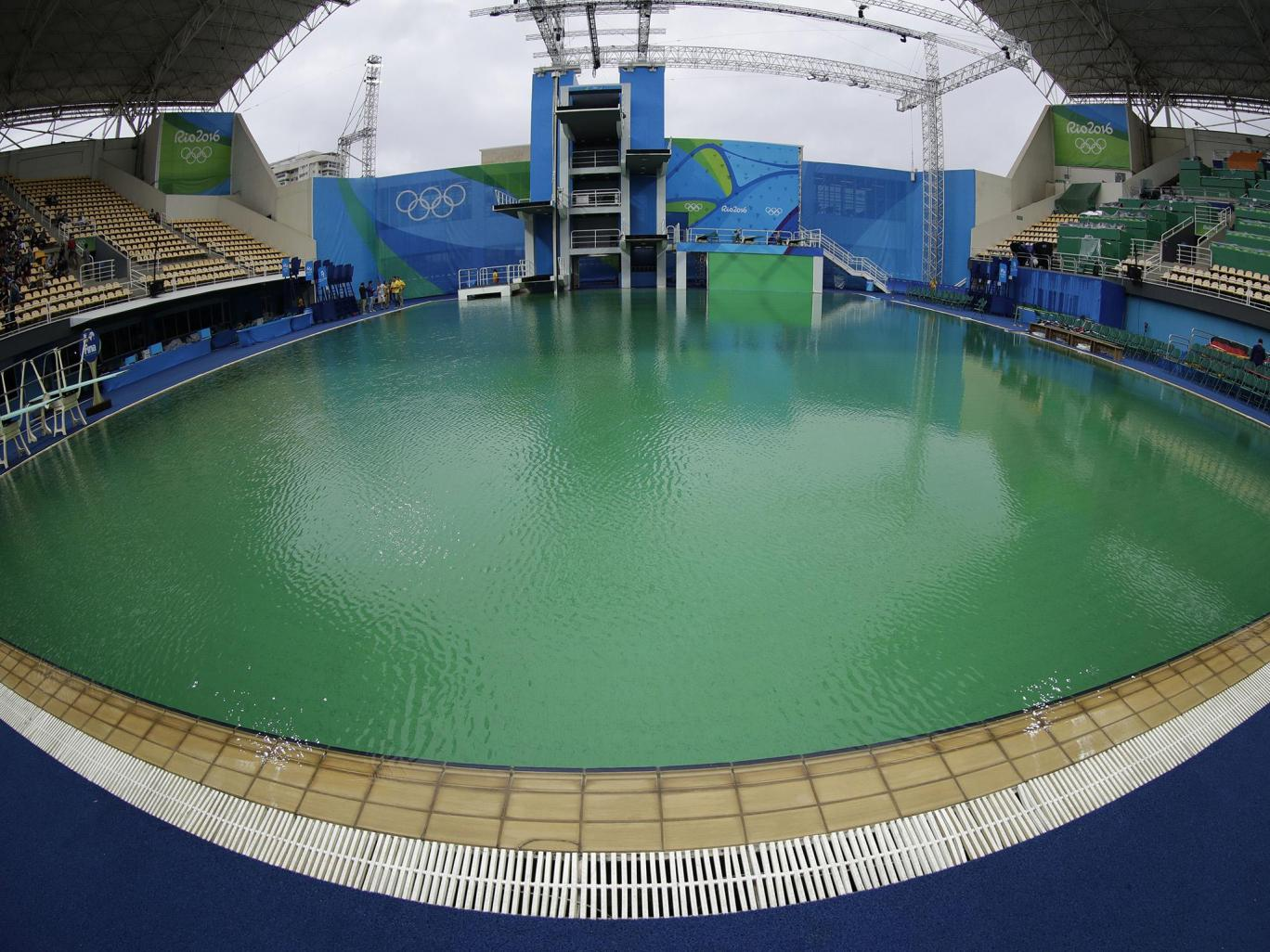 Organisers Finally Reveal Why The Olympic Swimming Pool ...