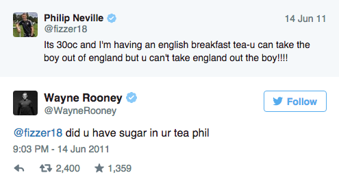 Wayne Rooney Ripped To Shreds After Liking Very NSFW Tweet rooney twitter 2