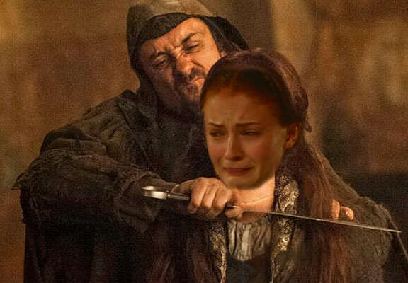 Sansa Sent Game Of Thrones Fans Into Theory Mode With This Photo sansa dead