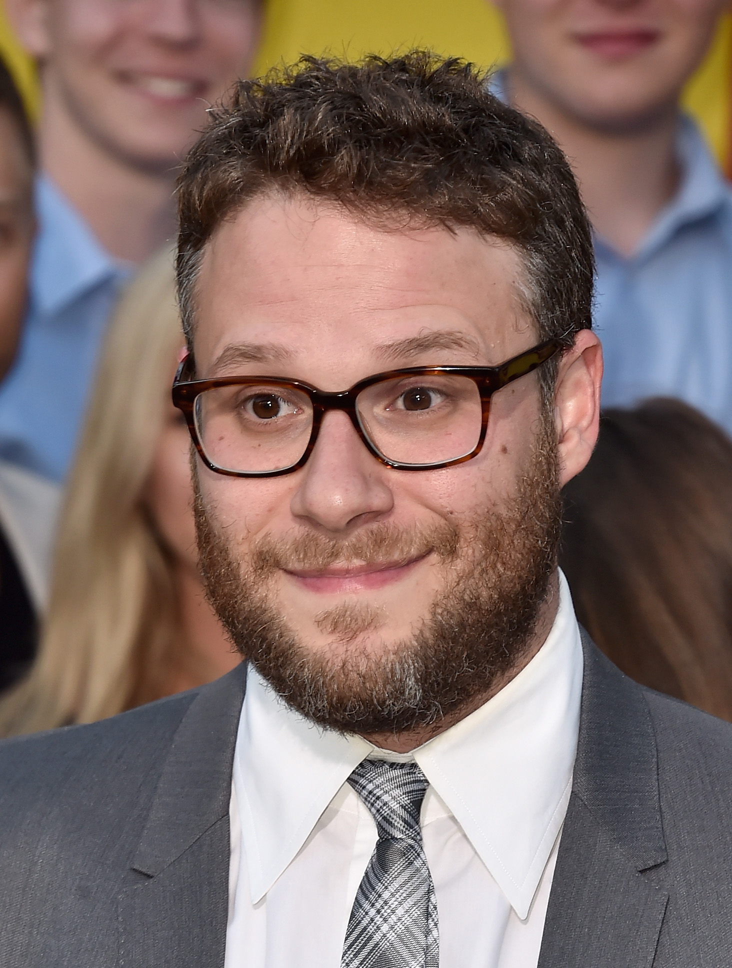 Seth Rogen Thinks He Knows Why Orlando Bloom Stripped For Cameras seth1