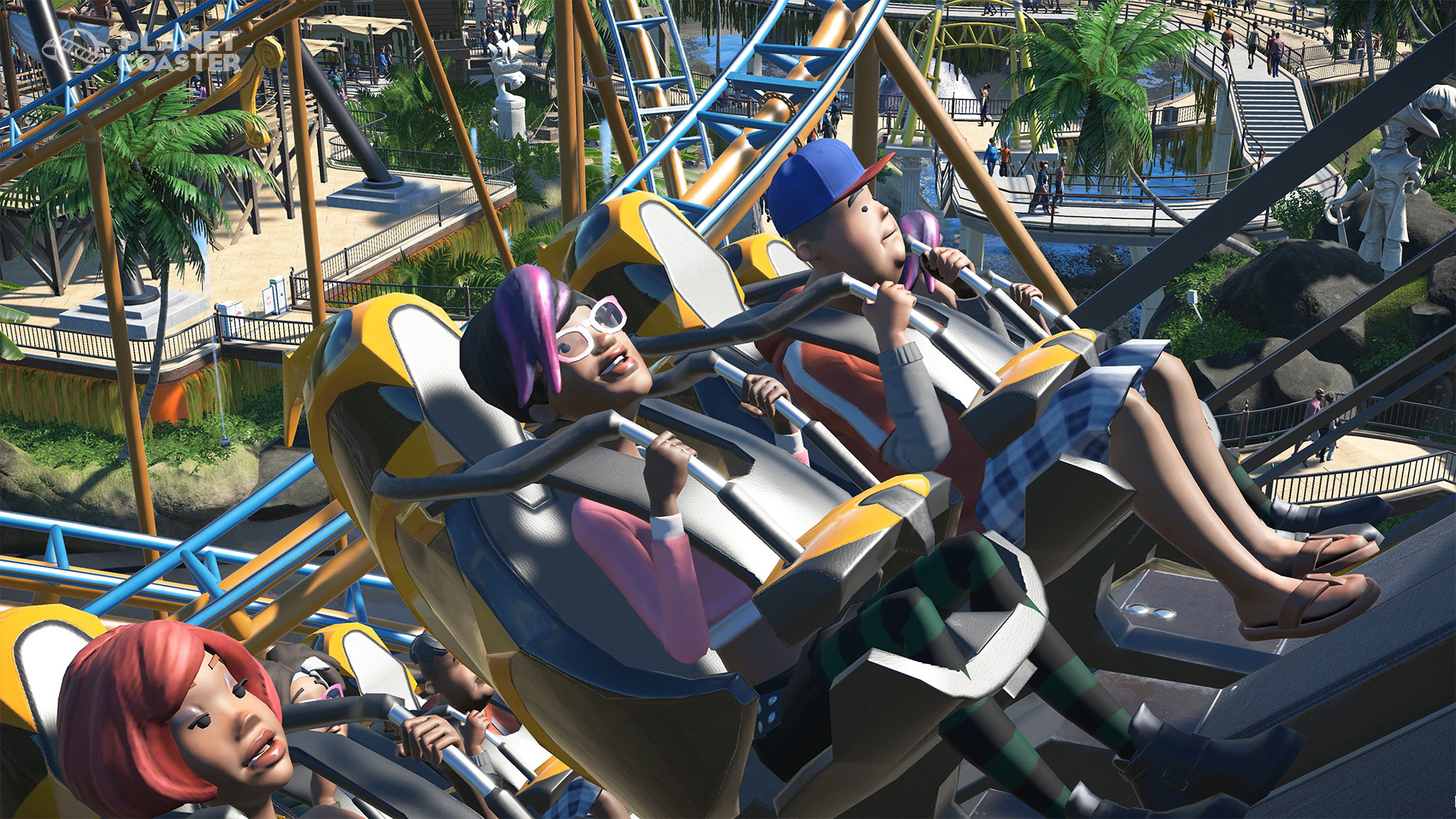 See RollerCoaster Tycoon Inspired Planet Coaster In Action ss b50d98818095d805e94756fe941bdc552e92325c.1920x1080