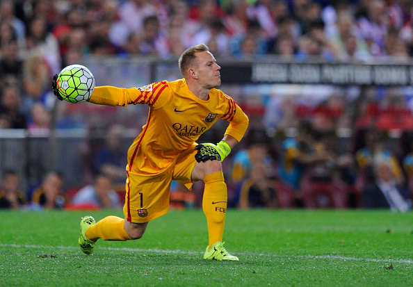 Hart Clanger Convinces Pep To Make Huge Move For Class Goalie ter Stegen Getty