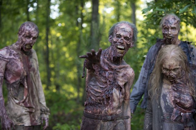 Flesh Eating Cannibal Drug Sparks Zombie Outbreak Fears At Rio Olympics the walking dead season 6 zombies 640x426