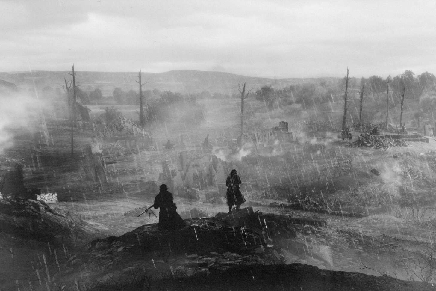 Battlefield 1 Screens Look Hauntingly Realistic With Black & White Filter twswbPer