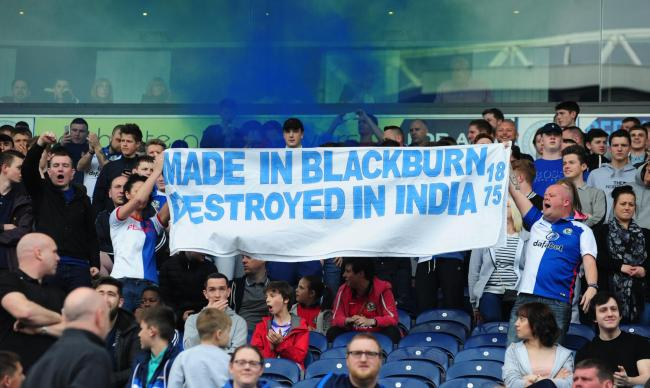 Blackburn Rovers Fans Hit Back At Venky Family While Raising Money For Charity venkys1