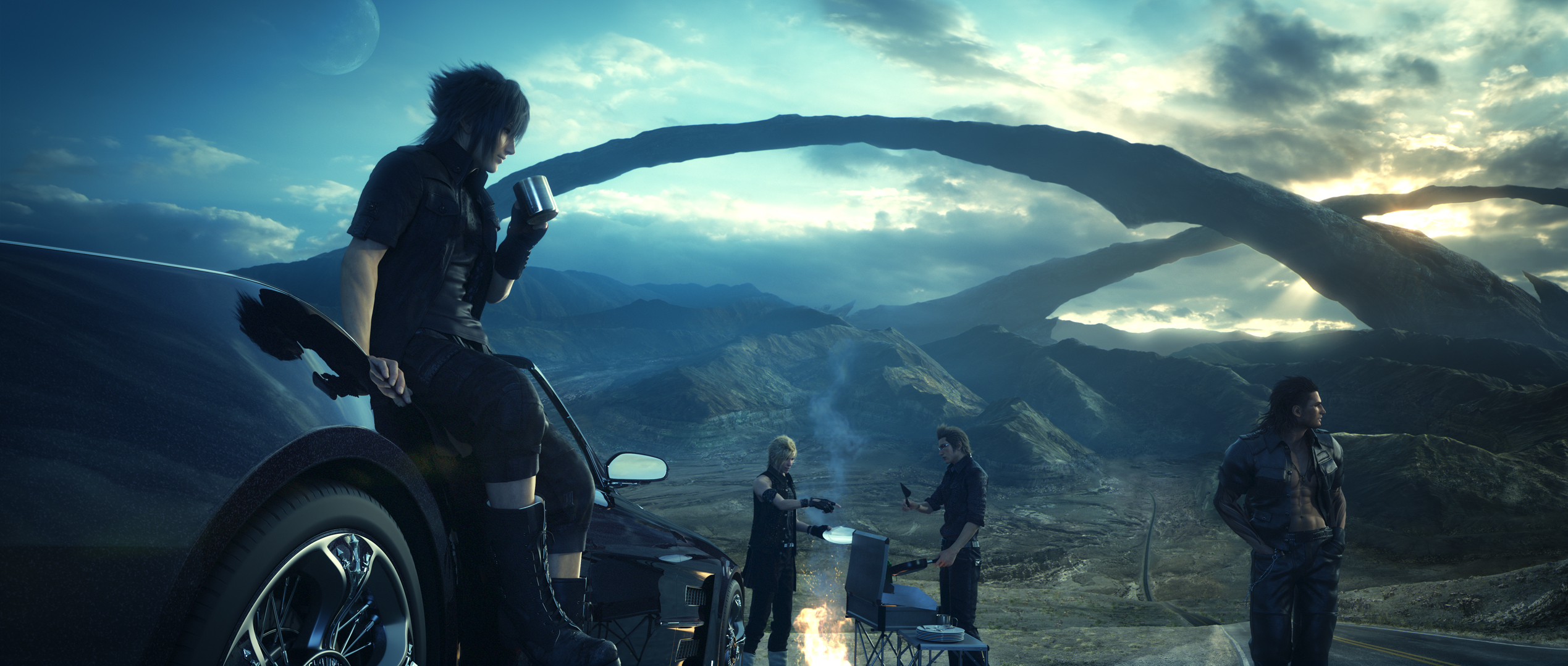 Final Fantasy XV Gets Mental New Story Trailer 109174