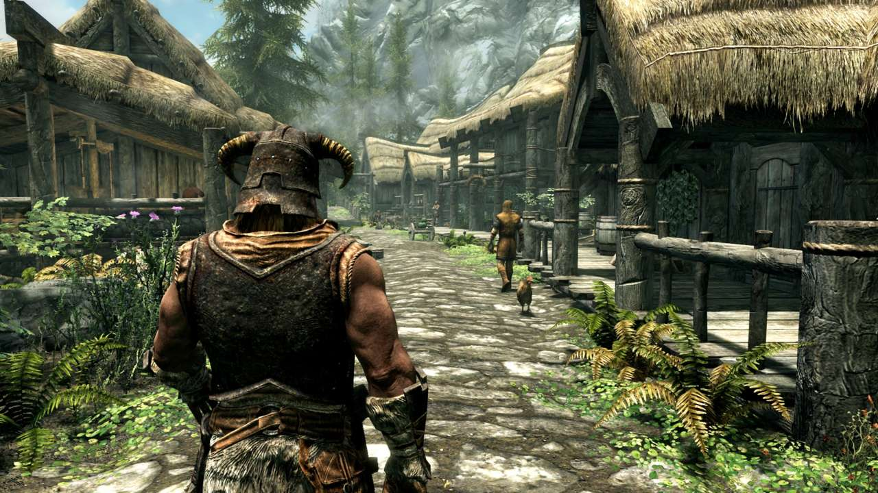 Skyrim Remaster Dragonborn Bundle Comes With Cool Extras 3077757 skyrimspecialeditionriverwood 1465779535