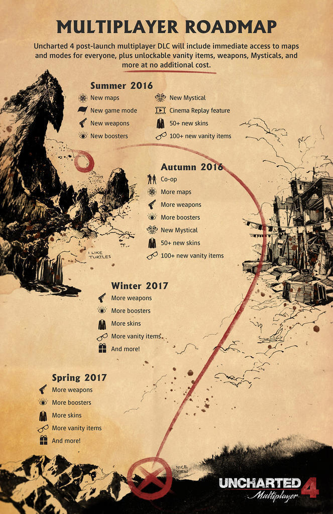 Uncharted 4 Massive Free Update Out Now, Heres Whats In it 3123135 roadmap