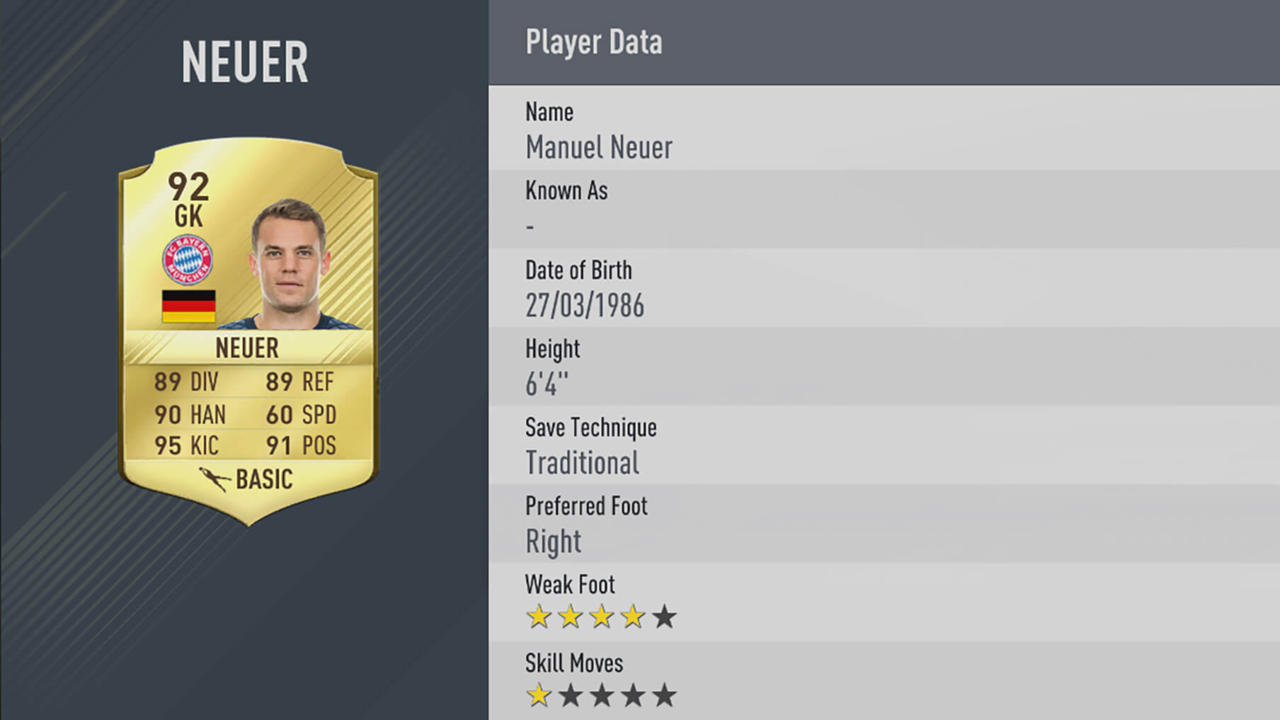 FIFA 17 Top Ten Player Rankings Revealed 3125028 5