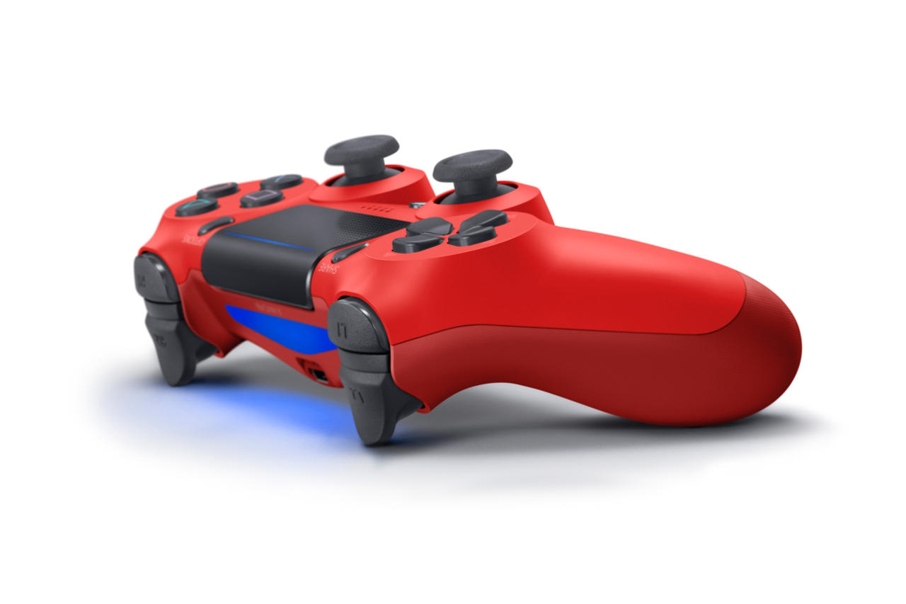 PS4 To Get A Ton Of New Accessories, Including New Controller 3126240 dualshock4 2 magmared 02
