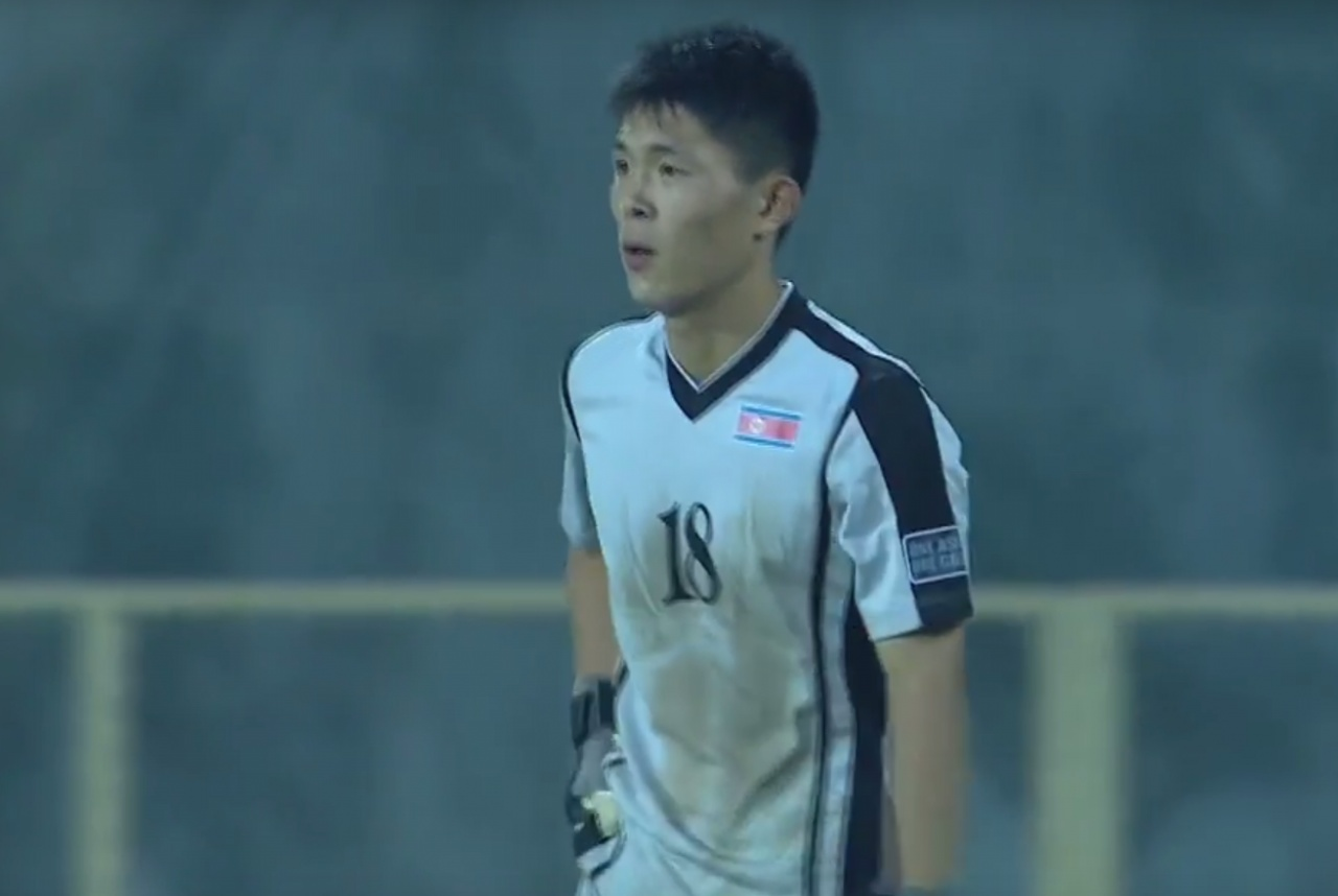 North Korean Goalkeeper Makes Absolute Howler As Opposite Number Scores 340a4b094e0e3128df404cdb2d5c152c