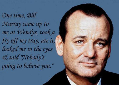10 Times Bill Murray Was The Coolest Person Alive 911