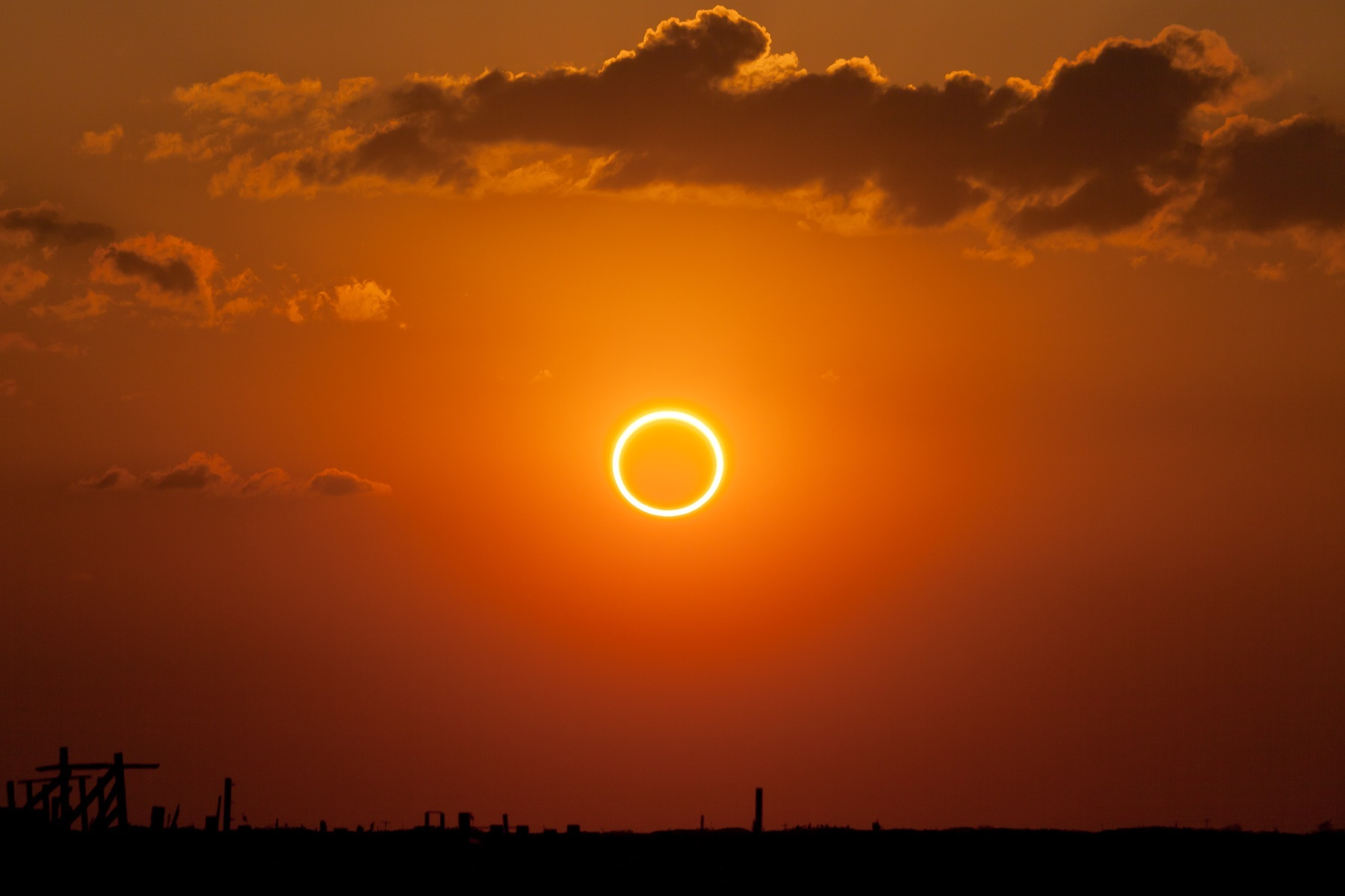 Rare Black Moon Will Bring End Of World   On Friday Annular eclipse  ring of fire