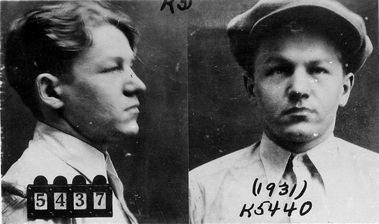 If You Look Like This Youre Beautiful But Dangerous Apparently Baby Face Nelson 1931 mug shot