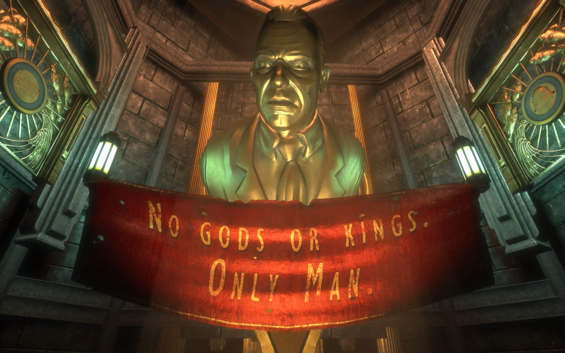 You Can HD Upgrade Your BioShock Copies For Free, Heres How BioShockTC Bio1 AndrewRyan Statue 05