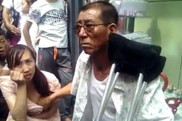 Chinese Mystic Touches Womans Breasts To Predict The Future Chinese man predicts future by touching womans breasts