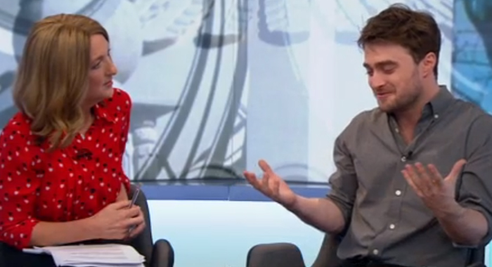 Daniel Radcliffe Admits Hollywood Is Undeniably Racist DanielRadcliffe RascismWEB