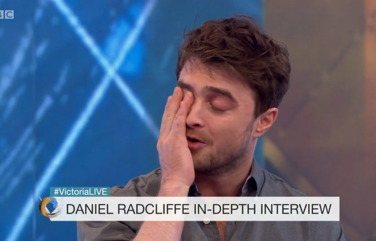 Daniel Radcliffe Admits Hollywood Is Undeniably Racist DanielVictoriaDerbyshire1 1200x768