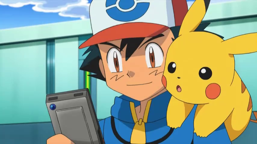 Pokemon Player Finishes Pokedex Without Getting Any Badges EP702 Ash usando la pokedex