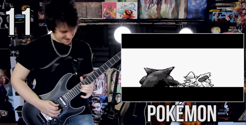 50 Videogame Songs Blitzed In Incredible 2 Minute Guitar Medley FacebookThumbnail 25