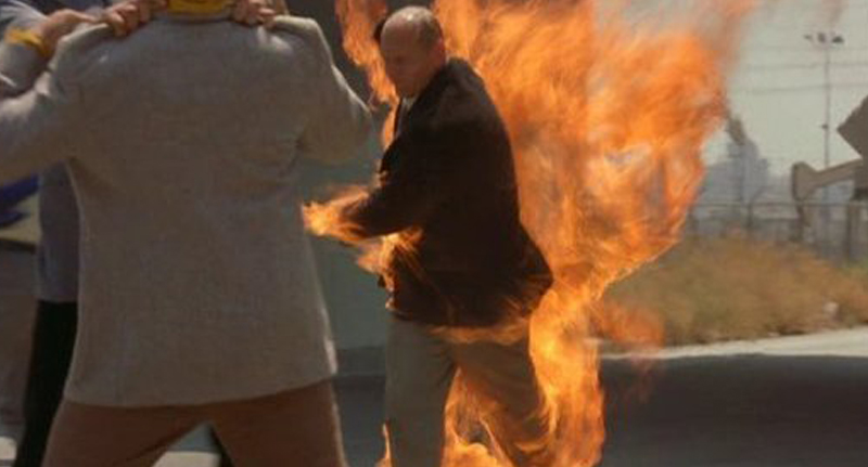 People Reveal What It Feels Like To Be On Fire Fire