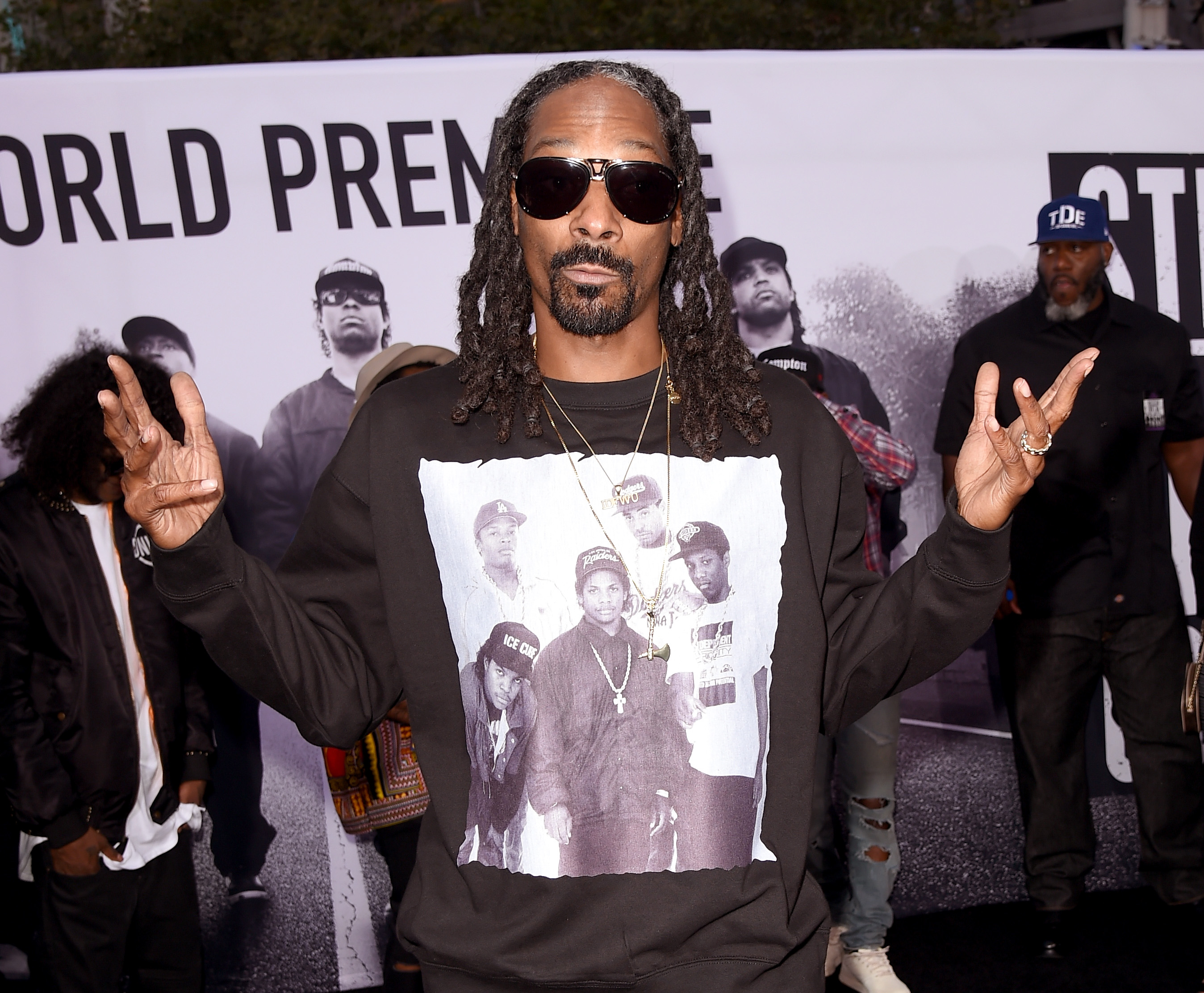 "Universal Pictures And Legendary Pictures' Premiere Of ""Straight Outta Compton"" - Arrivals"