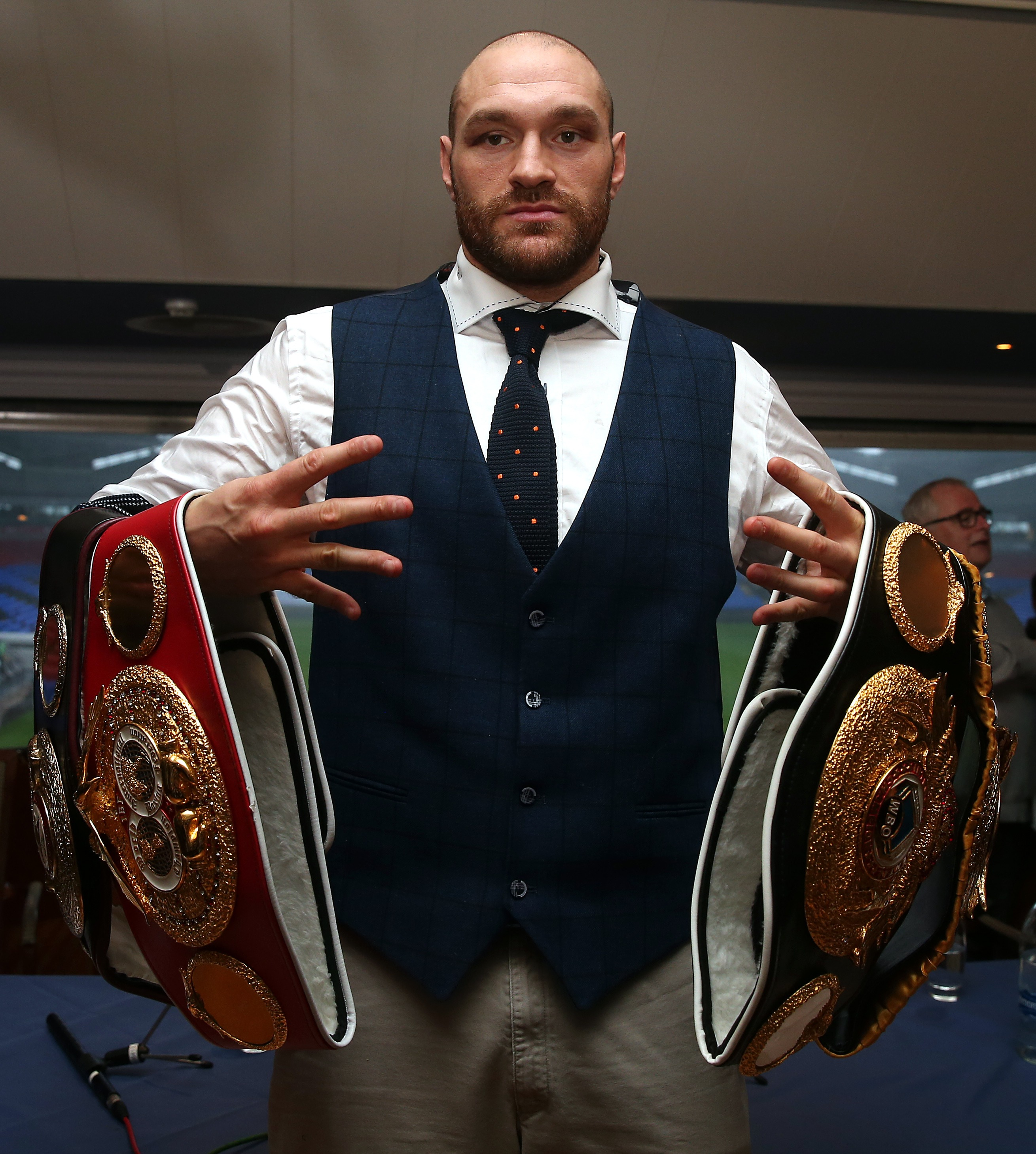 Tyson Fury Could Be Stripped Of His Belts After Testing Positive For Cocaine GettyImages 499274246