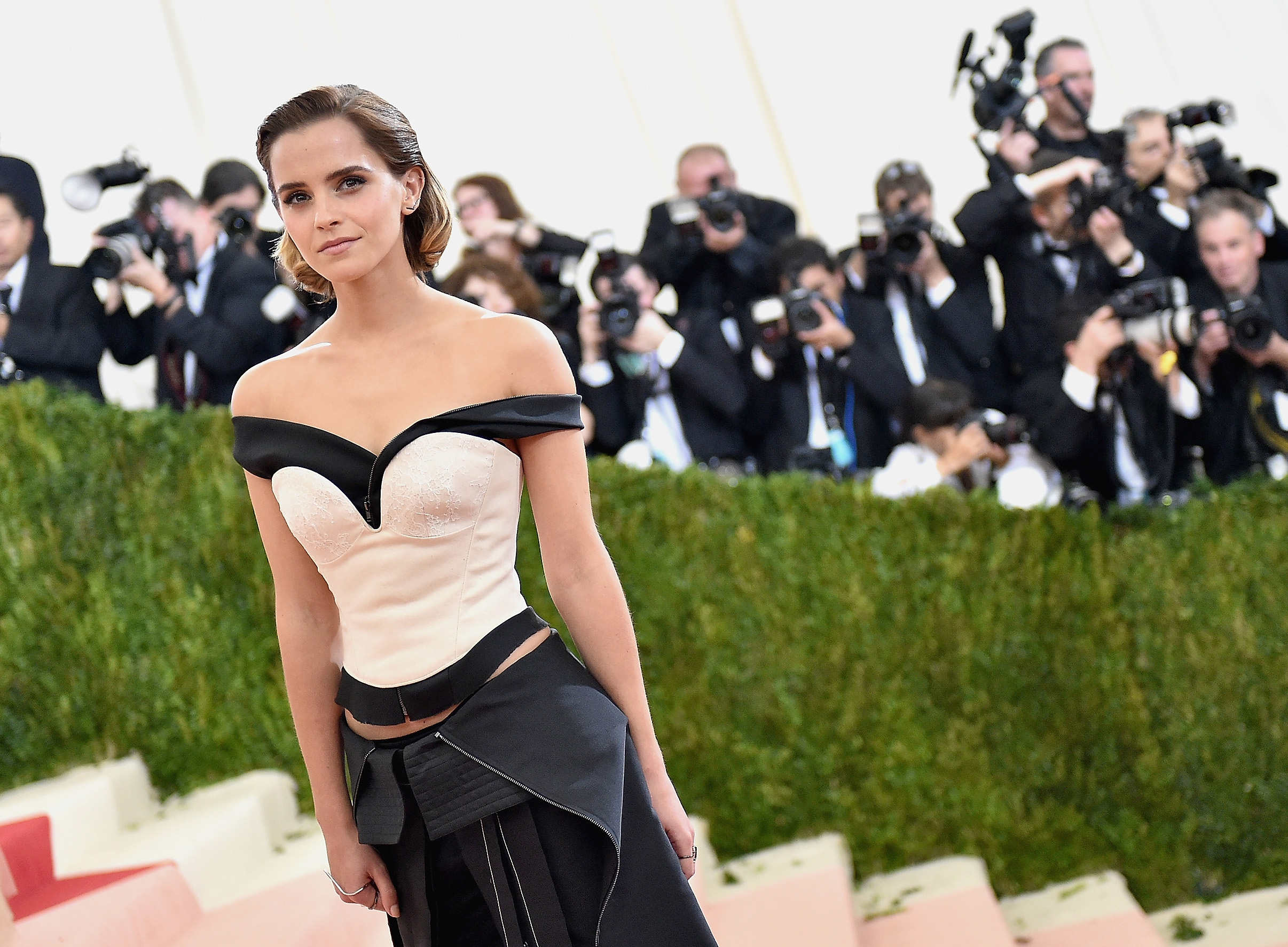 Emma Watson Breasts And Nipples Pics Surface Online, Lawyers Not Happy GettyImages 528406624